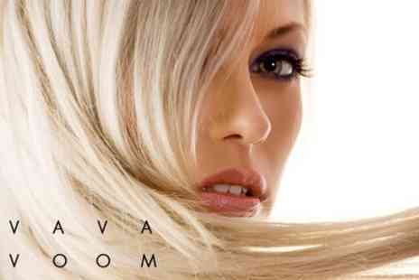 Va Va Voom - Half Head Highlights or Full Head Colour With Cut and Blow Dry - Save 61%