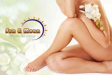 Sun and Moon Beauty - Laser Lipolysis Three Sessions - Save 32%
