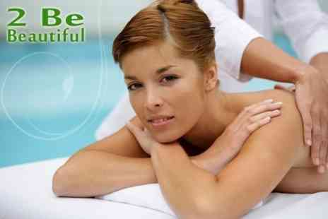 2 Be Beautiful - 90 Minutes Worth of Pamper Treatments Such as Massage, Facial and Spray Tan - Save 69%