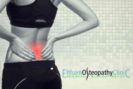 Eltham Osteopathy Clinic - Massage Treatment With Consultation and MyoVision Spinal Examination - Save 80%
