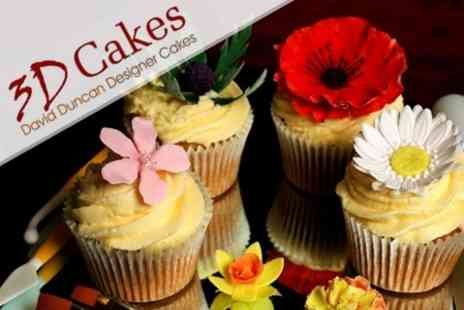3D Cakes - Cupcake Decorating Masterclass With 12 Cakes - Save 72%
