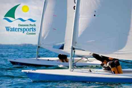 Danson Park Watersports Centre - Sailing Two Hour Introduction - Save 34%