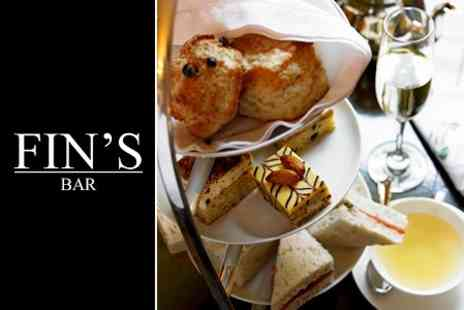 Fins Bar - Afternoon Tea For Two - Save 45%