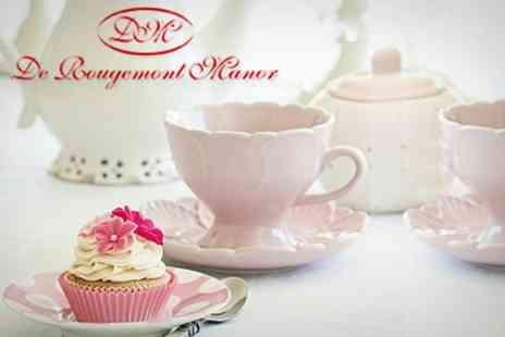 De Rougemont Manor - Afternoon Tea For Two - Save 53%