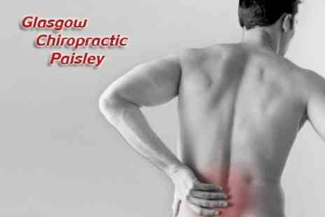 Glasgow Chiropractic - Chiropractic Consultation and Exam Plus Three Treatments - Save 74%