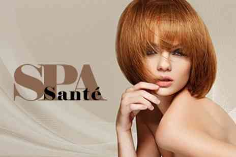 Sante Spa - Cut and Blow Dry With Oil Treatment - Save 46%
