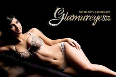 Glamureyesz - Six IPL Hair Removal Sessions With Three Beauty Treatments - Save 26%