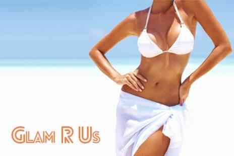 Glam R Us - Choice of Beauty Package Including Waxing or Tanning - Save 50%