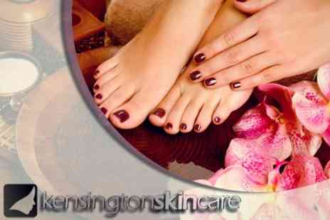 Kensington Skin Care - Luxury Manicure and Pedicure - Save 64%