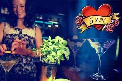 G and Teatime - Gin Tasting Afternoon Tea Plus Cocktail For One with G and Teatime - Save 61%