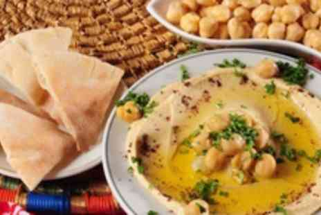 My Big Fat Greek - 8 cold dishes and 4 warm Greek tapas dishes for 2 & a glass of wine - Save 50%