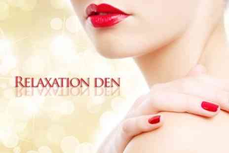 The Relaxation Den - Spa Manicure or Pedicure - Save 60%