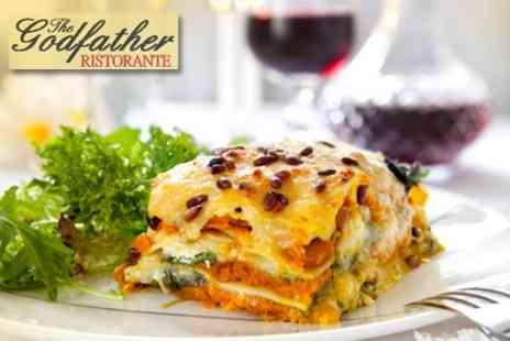 The Godfather Restaurant - £8 for £22 Worth of Contemporary Italian Fare - Save 64%