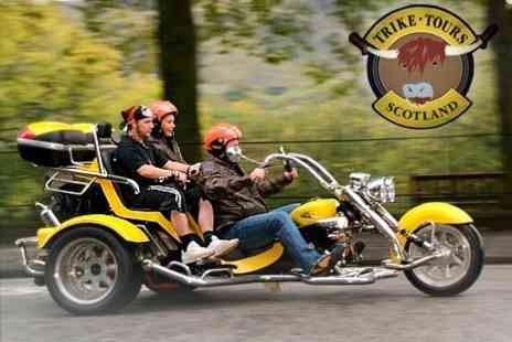 Trike Tours Scotland - Trike Tours Scotland Chauffeured Tour and Photoshoot For Two - Save 63%