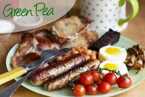 Green Pea Cafe - Locally Sourced Breakfast  Full English With Tea or Coffee Green Pea - Save52%