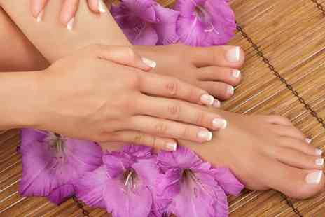 Beauty 2 Ltd - Luxury manicure and an aromatherapy pedicure - Save 74%