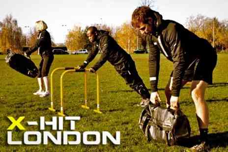 X Hit London - Five High Intensity Training Bootcamp Sessions - Save 79%