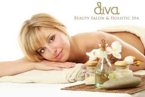Diva Beauty Salon and Holistic Spa - Spa Morning For Two With Treatment and Two Course Lunch - Save 55%