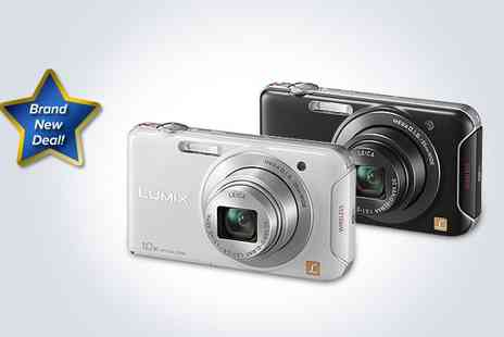 Hanaco - Panasonic Lumix DMC SZ5 Wi Fi digital camera bundle in white - Save 26%