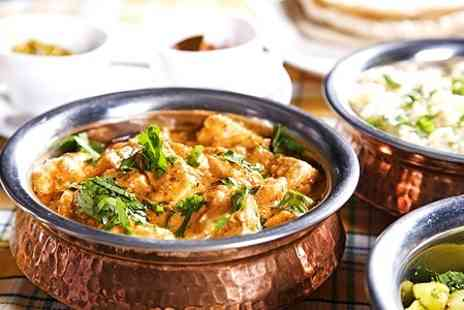 Spice Master - Two Courses of Indian Cuisine For Two or Four - Save 54%
