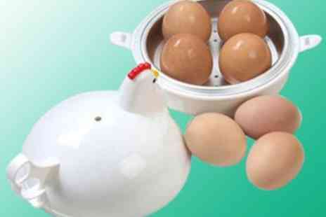 Big Bargain Store - Microwaveable Egg Cooker  Perfect Boiled Eggs in Minutes - Save 50%