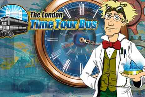 Time Tours - The London Time Tour Bus, The Perfect Bank Holiday Day Out! - Save 40%