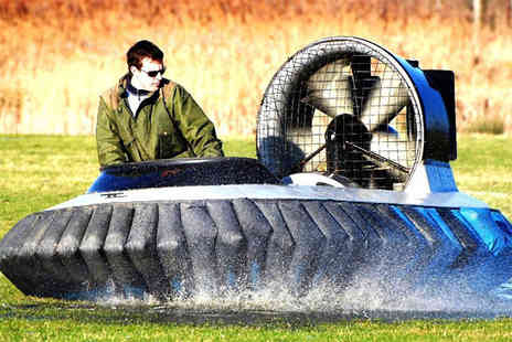 Hovercraft Adventures - Five lap hovercraft experience - Save 63%