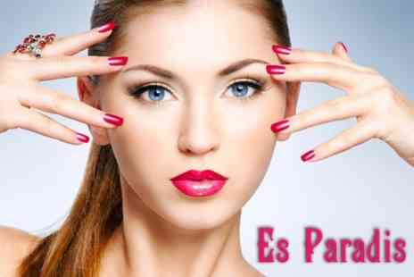 Es Paradis - OPI Gel Nails For Fingers and Toes Plus Eyebrow Wax - Save 66%