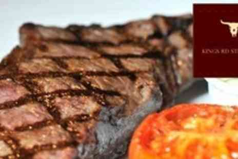Kings Road Steakhouse - Two Course Steak Dinner For Two - Save 58%