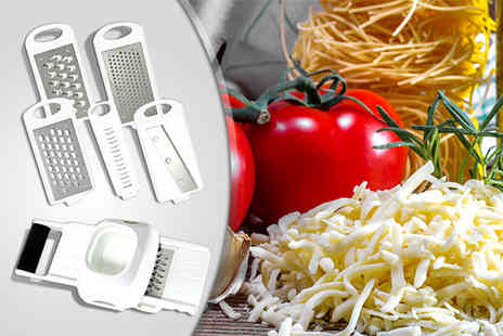 The Kript - MetalTex 5-in-1 multi purpose grater and slicer - Save 67%