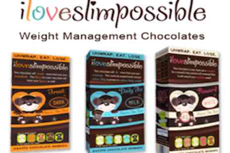 iLoveSlimPossible -  Slimming Chocolate Minibars As Seen In OK Magazine - Save 41%