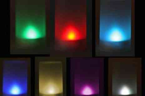 Big Bargain Store - Flicking LED 7 Colour Change Flameless Candle - Save 50%