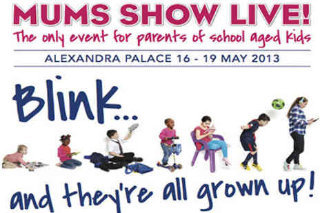 Mums Show Live - Tickets to Mums Show Live - Save 50%