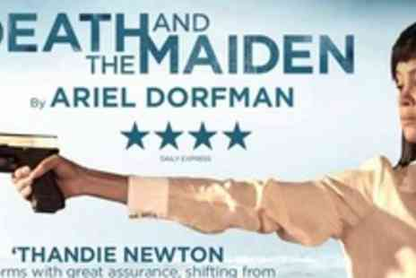 Death And The Maiden - Top Price Ticket - Save 52%