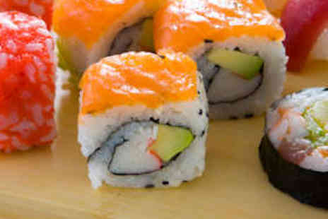Sakushi - Eight Plates of Sushi to Share Between Two - Save 61%