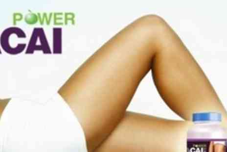 Power Acai - Two Month Course of Acai Berry Supplements - Save 80%