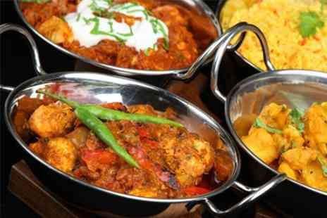 Namaste Nepal - Five Nepalese Dish Meal with Rice or Naan For Two - Save 52%