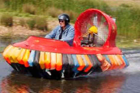 Hovercraft Adventures - Hovercraft Driving Experience for Adult and Child - Save 63%