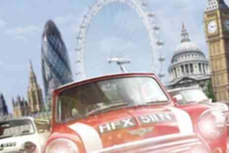 Small Car Big City - 90 minute Italian Job tour of London in a Mini Cooper for three people - Save 50%