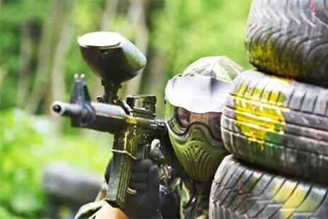Warzone Paintball - Paintballing With Lunch and Ammo - Save 70%