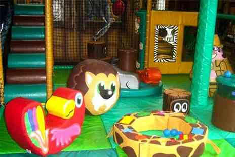 The Jungle - Soft Play Entry For Two Children and Two Adults With Drinks - Save 59%