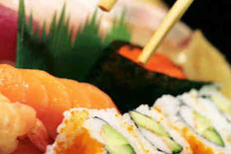 Samsi - Four Course Japanese Meal for Two with Jug of Sake - Save 57%