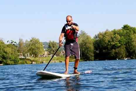 Devon Windsurf and Canoe Centre - Stand Up Paddleboarding - Save 56%
