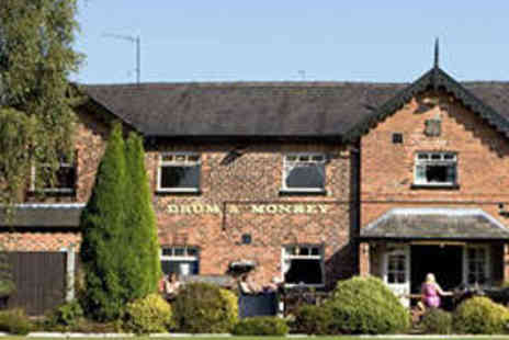Drum & Monkey - Two Course Sunday Lunch for Two - Save 52%