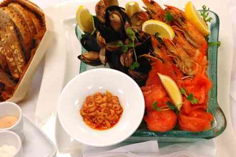 Hilton - Seafood Sharing Platter and Bottle of Champagne - Save 53%
