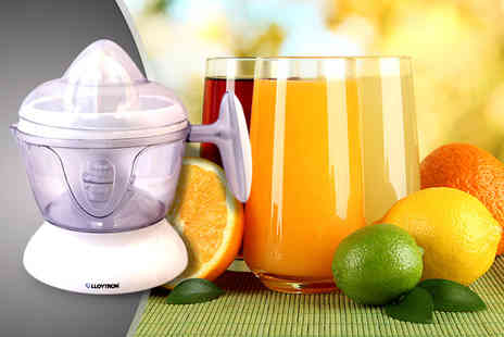 The Kript - white 0.5-litre citrus juicer make your own juice and save a fruity - Save 50%