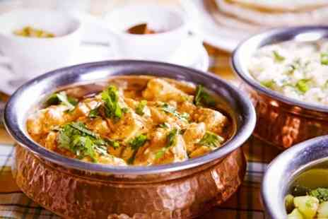 Prince of India - Two Courses Indian Fare For Two - Save 56%