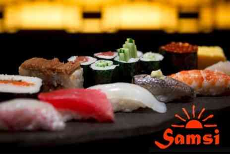 Samsi - Four Course Japanese Dinner With Sake For Two - Save 52%
