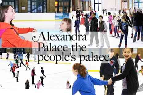 Alexandra Palace - Ice Skating & Holiday fast track course - Save 44%