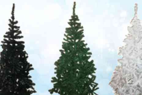 Aquwa - Luxury 5ft Artificial Christmas Tree in a range of colours - Save 63%